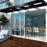 Milgard Windows & Doors - Pocket Glass Walls in Aluminum