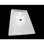 "Shower Walls - Cultured Marble Shower Bases - 36"" X 60"""