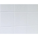 "Shower Walls - Cultured Marble Tub Surrounds - 8"" X 8"" Smooth Tile"