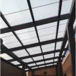 UNITED SKYS - Series 9000 Standing Seam Polycarbonate Translucent Canopy