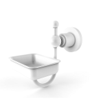 Allied Brass - Astor Place Wall Mounted Soap Dish - Matte White