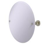 Allied Brass - Frameless Round Tilt Mirror with Beveled Edge - Polished Nickel - AP-90