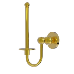 Allied Brass - Upright Toilet Tissue Holder - Polished Brass - BL-24U