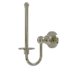 Allied Brass - Upright Toilet Tissue Holder - Polished Nickel - BL-24U