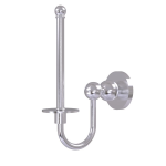 Allied Brass - Upright Toilet Tissue Holder - Satin Chrome - BL-24U