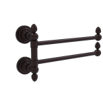 Allied Brass - Dottingham Collection 2 Swing Arm Towel Rail - Antique Bronze