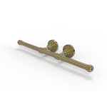 Allied Brass - Dottingham Collection Double Roll Toilet Tissue Holder - Unlacquered Brass