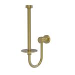 Allied Brass - Upright Toilet Tissue Holder - Satin Brass - FT-24U