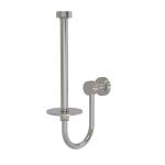 Allied Brass - Upright Toilet Tissue Holder - Satin Nickel - FT-24U