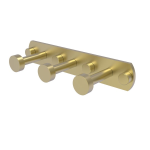 Allied Brass - Fresno Collection 3 Position Multi Hook - Satin Brass