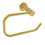 Allied Brass - Fresno Collection Euro Style Toilet Tissue Holder - Polished Brass
