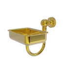 Allied Brass - Mambo Collection Wall Mounted Soap Dish - Polished Brass