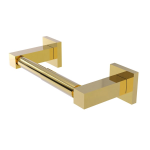 Allied Brass - Montero Collection Contemporary Two Post Toilet Tissue Holder - Unlacquered Brass