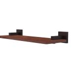 Allied Brass - Montero Collection Solid IPE Ironwood Shelf - Venetian Bronze
