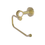 Allied Brass - Pacific Beach Collection European Style Toilet Tissue Holder - Unlacquered Brass