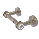 Allied Brass - Pacific Beach Collection Two Post Toilet Tissue Holder - Antique Pewter
