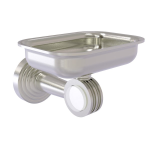 Allied Brass - Pacific Beach Collection Wall Mounted Soap Dish Holder - Satin Nickel
