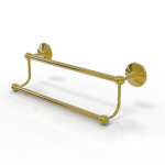 Allied Brass - Prestige Monte Carlo Collection Double Towel Bar - Unlacquered Brass
