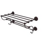 Allied Brass - Prestige Monte Carlo Collection Train Rack Towel Shelf - Antique Bronze