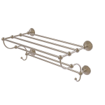 Allied Brass - Prestige Monte Carlo Collection Train Rack Towel Shelf - Antique Pewter
