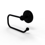 Allied Brass - European Style Toilet Tissue Holder - Matte Black - PQN-24E
