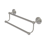 Allied Brass - Prestige Que New Collection Double Towel Bar - Satin Nickel