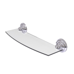 Allied Brass - Prestige Que New Collection Glass Shelf - Polished Chrome