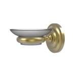 Allied Brass - Wall Mounted Soap Dish - Satin Brass - PQN-62