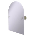 Allied Brass - Frameless Arched Top Tilt Mirror with Beveled Edge - Polished Nickel - PR-94