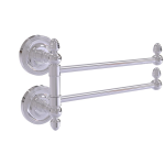 Allied Brass - Prestige Regal Collection 2 Swing Arm Towel Rail - Polished Chrome