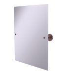 Allied Brass - Frameless Rectangular Tilt Mirror with Beveled Edge - Antique Copper - P1092