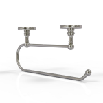 Allied Brass - Skyline Collection Under Cabinet Paper Towel Holder - Satin Nickel