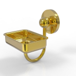 Allied Brass - Wall Mounted Soap Dish - Unlacquered Brass - P1032