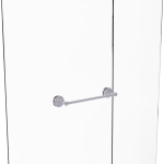 Allied Brass - Que New Collection 18 Inch Shower Door Towel Bar - Satin Chrome