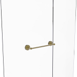 Allied Brass - Que New Collection 18 Inch Shower Door Towel Bar - Unlacquered Brass