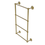 Allied Brass - Que New Collection 4 Tier Ladder Towel Bar - Unlacquered Brass