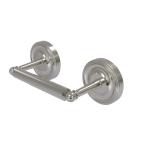 Allied Brass - 2 Post Toilet Tissue Holder - Satin Nickel - R-24
