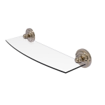 Allied Brass - Regal Collection Glass Shelf - Antique Pewter