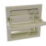 Allied Brass - Regal Collection Recessed Toilet Tissue Holder - Polished Nickel