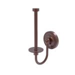 Allied Brass - Upright Toilet Tissue Holder - Antique Copper - R-24U