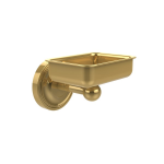 Allied Brass - Wall Mounted Soap Dish - Unlacquered Brass - R-WG2