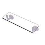 Allied Brass - Remi Collection 16 Inch Glass Vanity Shelf with Beveled Edges - Polished Chrome