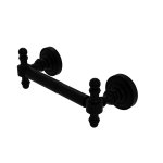 Allied Brass - 2 Post Toilet Tissue Holder - Matte Black - RD-24