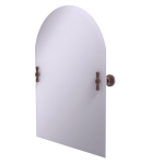 Allied Brass - Frameless Arched Top Tilt Mirror with Beveled Edge - Antique Copper - RD-94
