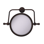 Allied Brass - Retro Dot Collection Wall Mounted Swivel Make-Up Mirror 8 Inch Diameter - Venetian Bronze