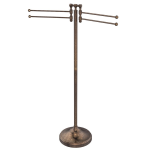 Allied Brass - Towel Stand with 4 Pivoting Swing Arms - Venetian Bronze - RDM-8