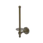 Allied Brass - Upright Toilet Tissue Holder - Antique Brass - RD-24U
