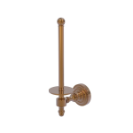 Allied Brass - Upright Toilet Tissue Holder - Brushed Bronze - RD-24U