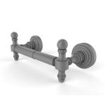 Allied Brass - 2 Post Toilet Tissue Holder - Matte Gray - RW-24