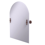 Allied Brass - Frameless Arched Top Tilt Mirror with Beveled Edge - Antique Copper - RW-94